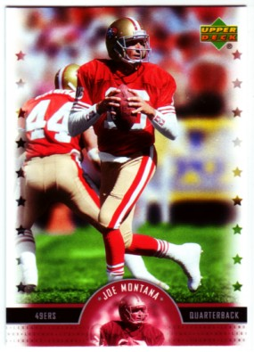 2005 Upper Deck Legends #95 Joe Montana