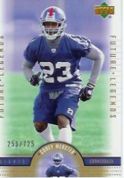 2005 Upper Deck Legends #162 Corey Webster RC