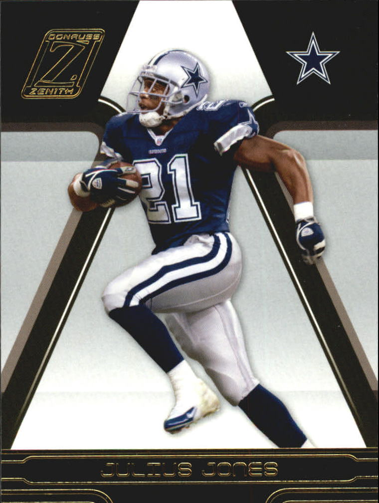 2005 Zenith #28 Julius Jones