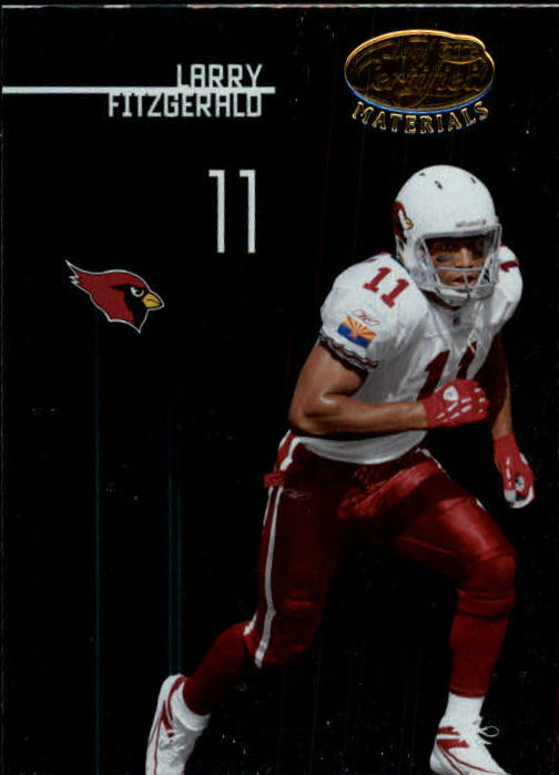2005 Leaf Certified Materials #3 Larry Fitzgerald