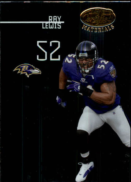 2005 Leaf Certified Materials #11 Ray Lewis