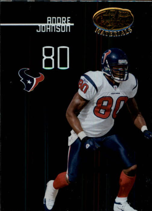 2005 Leaf Certified Materials #47 Andre Johnson