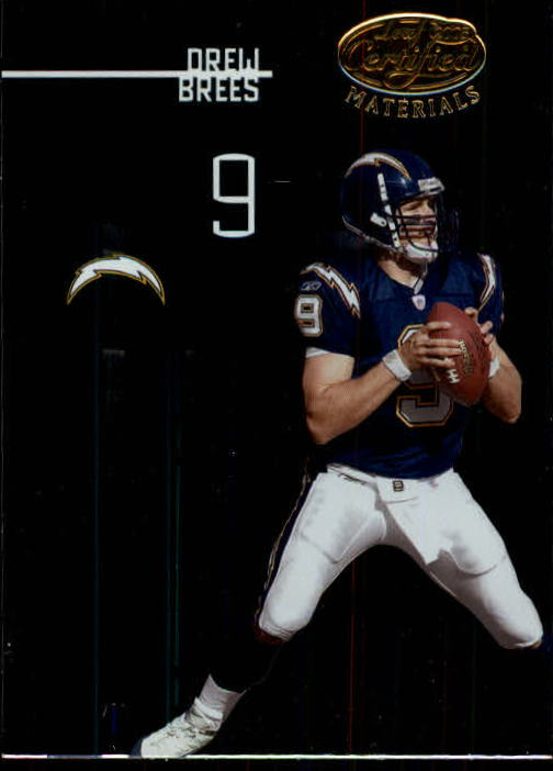 2005 Leaf Certified Materials #102 Drew Brees