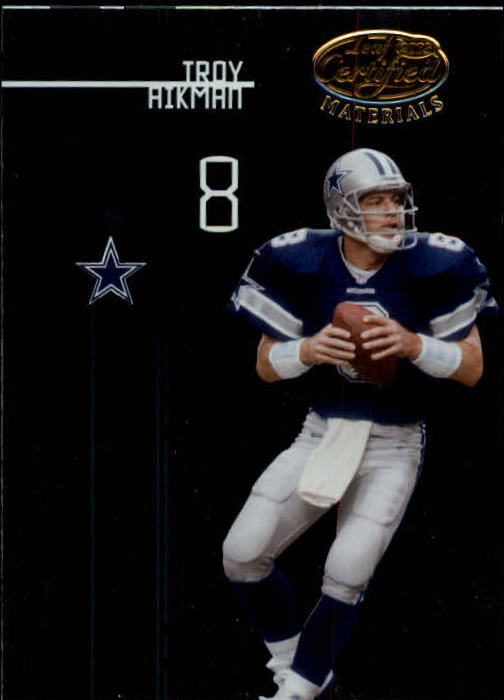 2005 Leaf Certified Materials #126 Troy Aikman