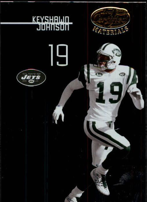 2005 Leaf Certified Materials #135 Keyshawn Johnson