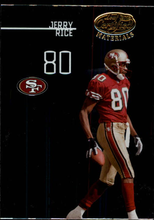 2005 Leaf Certified Materials #139 Jerry Rice