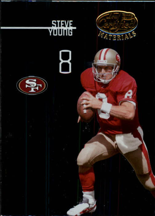 2005 Leaf Certified Materials #140 Steve Young