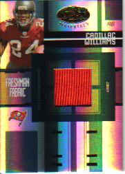 2005 Leaf Certified Materials #206 Cadillac Williams JSY/499 RC