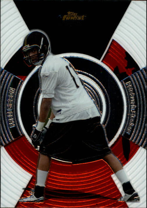 2005 Finest #145 Fred Gibson RC