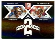 2005 Donruss Elite Face 2 Face Black #CB25 Joe Montana/Steve Young