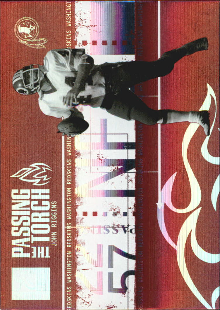 2005 Donruss Elite Passing the Torch Red #PT28 John Riggins/Clinton Portis