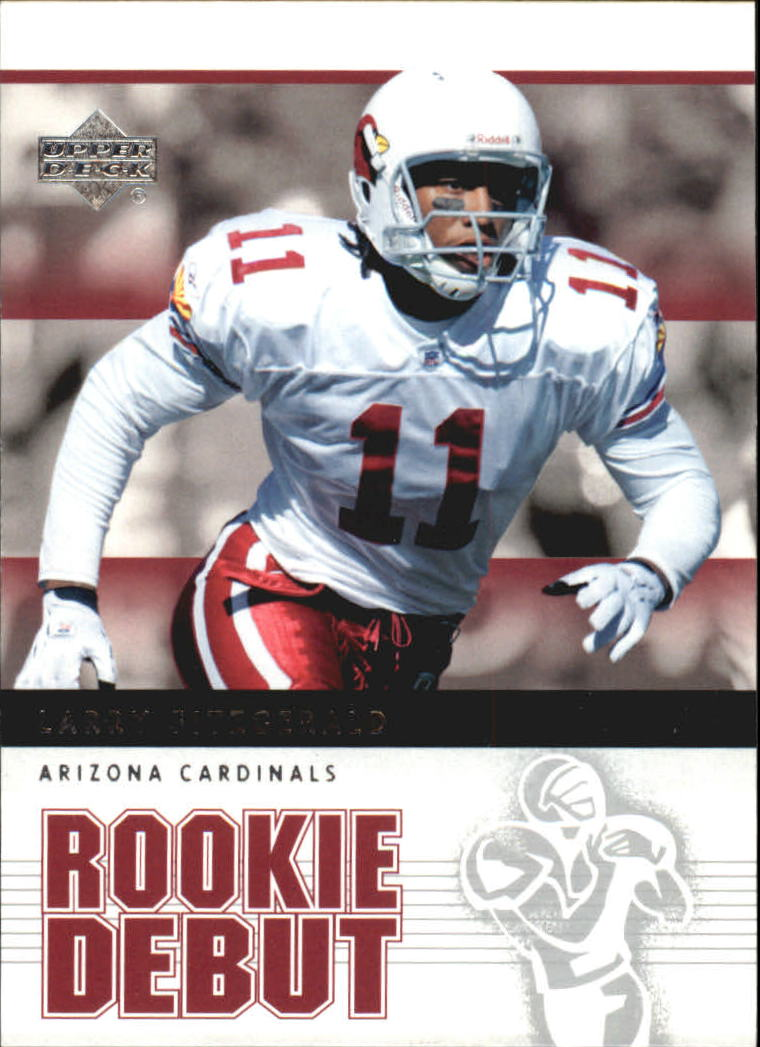 2005 Upper Deck Rookie Debut #1 Larry Fitzgerald