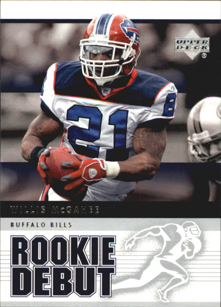 2005 Upper Deck Rookie Debut #10 Willis McGahee