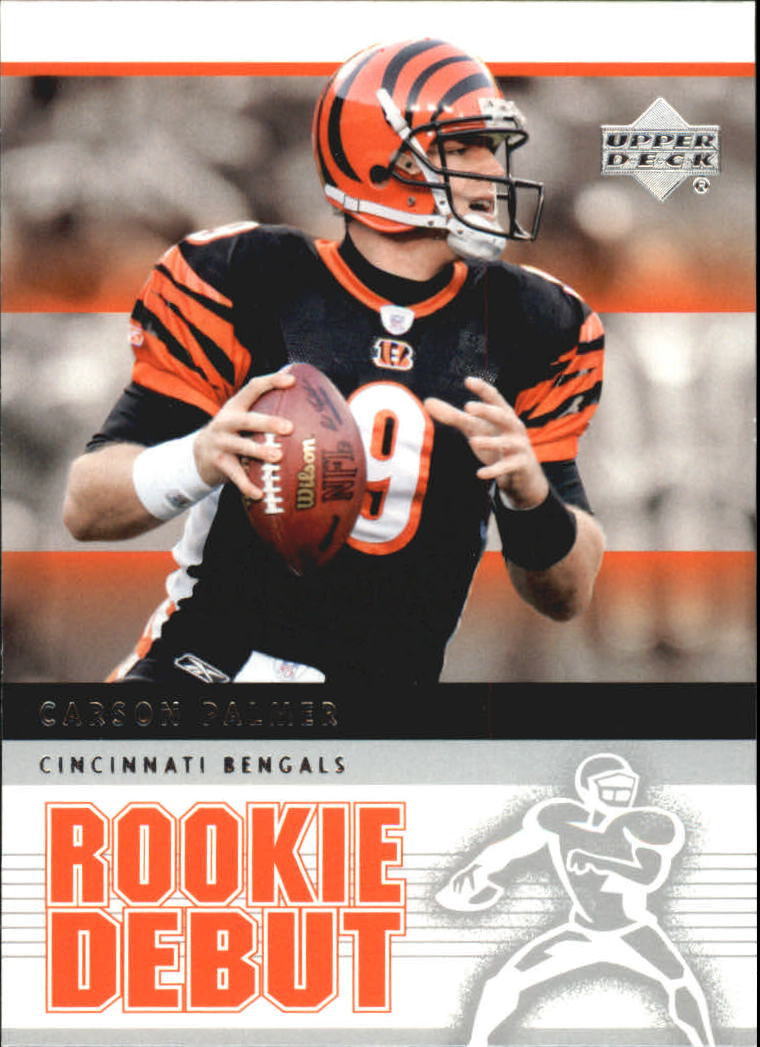 2005 Upper Deck Rookie Debut #19 Carson Palmer