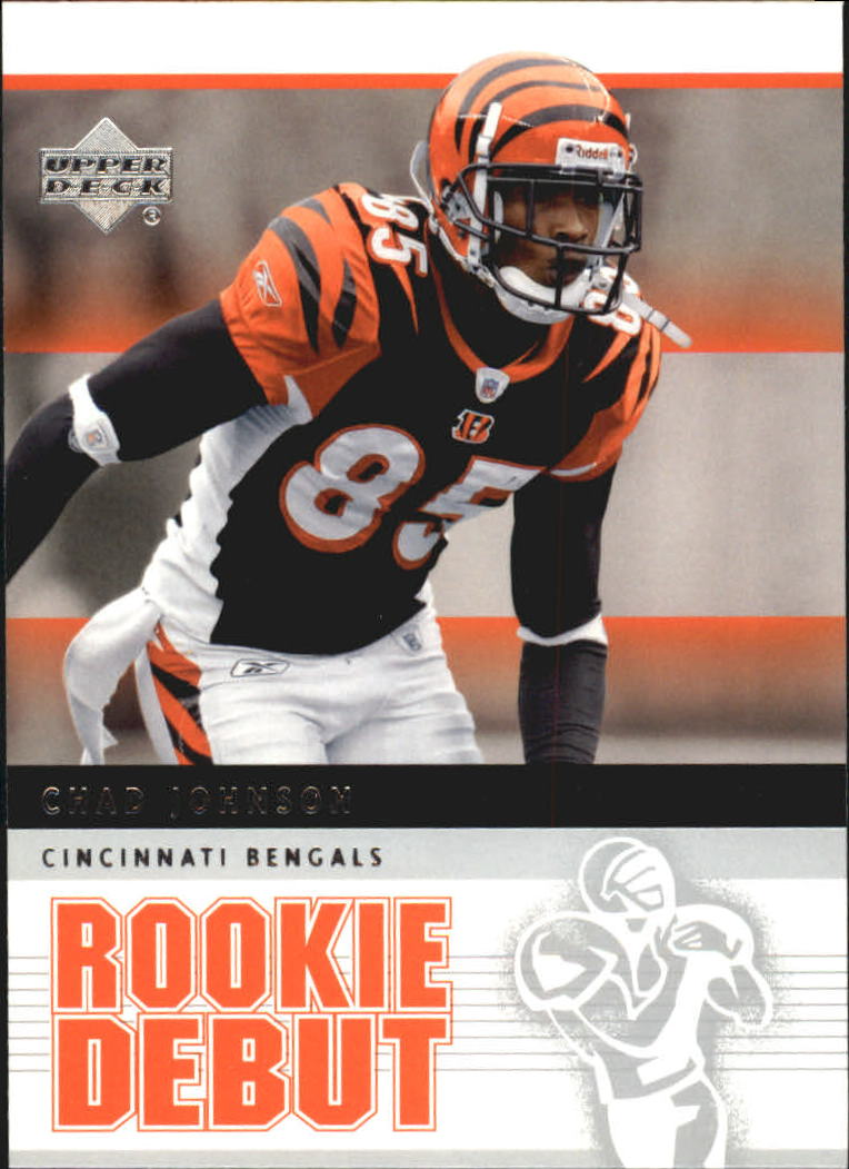 2005 Upper Deck Rookie Debut #21 Chad Johnson