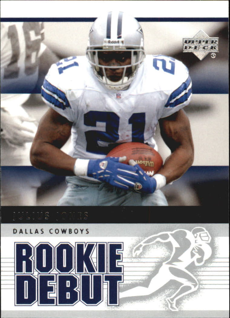 2005 Upper Deck Rookie Debut #27 Julius Jones