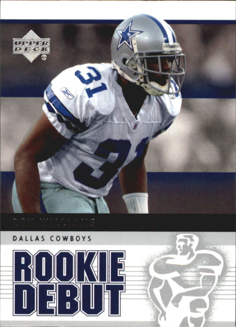 2005 Upper Deck Rookie Debut #28 Roy Williams S