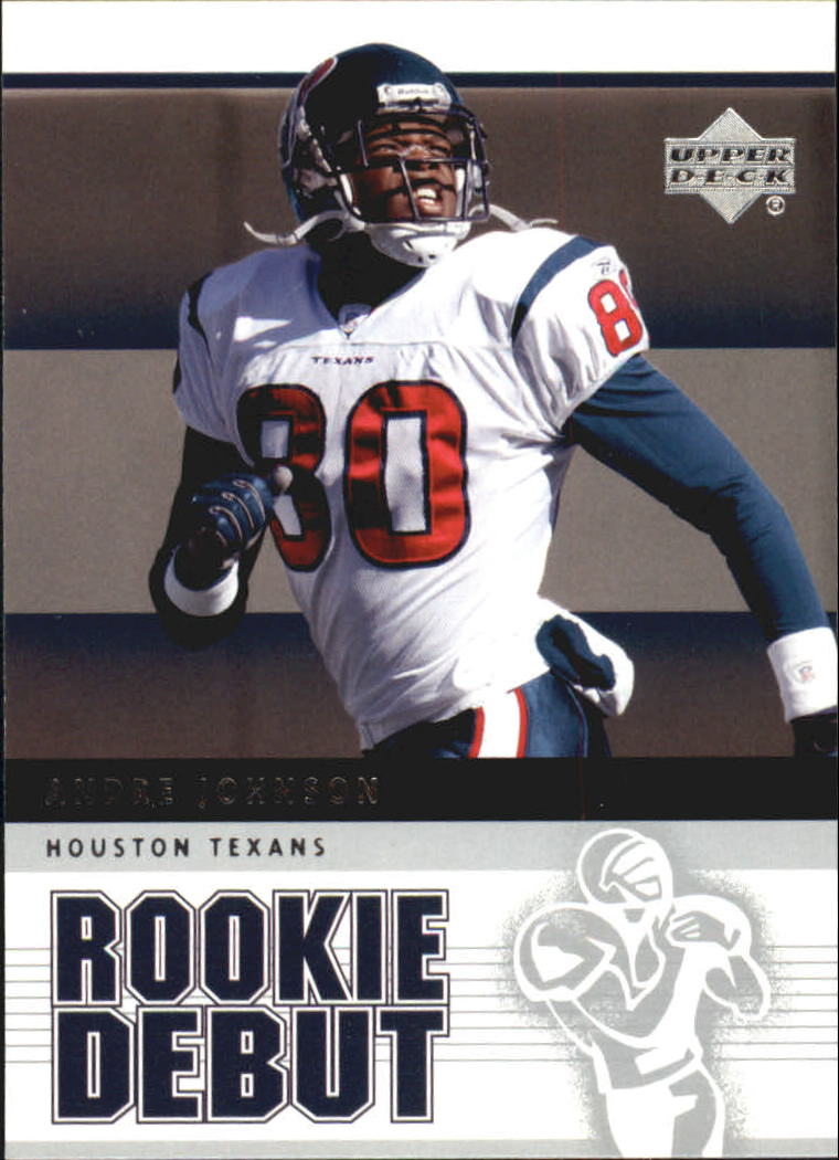 2005 Upper Deck Rookie Debut #39 Andre Johnson