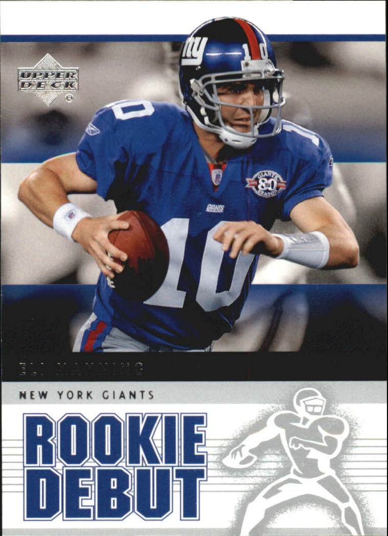 2005 Upper Deck Rookie Debut #64 Eli Manning