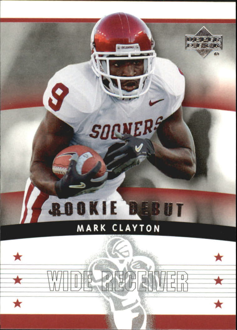 2005 Upper Deck Rookie Debut #115 Mark Clayton RC