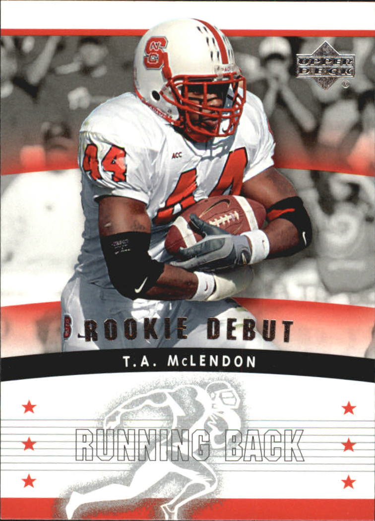 2005 Upper Deck Rookie Debut #128 T.A. McLendon RC