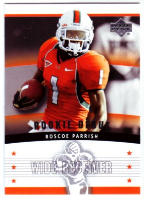2005 Upper Deck Rookie Debut #136 Roscoe Parrish RC