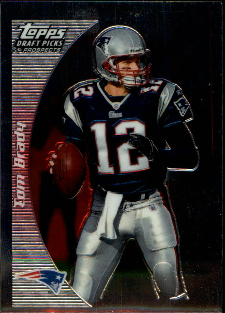 2005 Topps Draft Picks and Prospects Chrome #45 Tom Brady