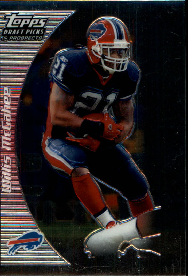 2005 Topps Draft Picks and Prospects Chrome #76 Willis McGahee front image