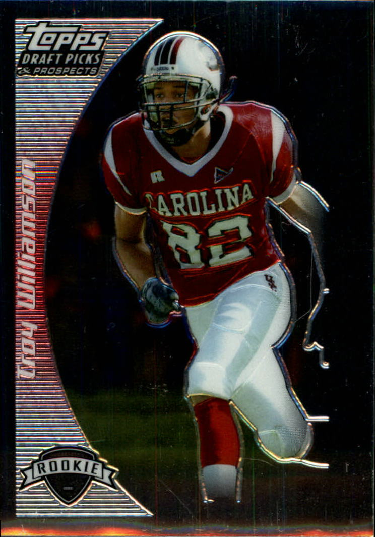 2005 Topps Draft Picks and Prospects Chrome #162 Troy Williamson