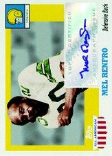 2005 Topps All American Autographs #AMR Mel Renfro I