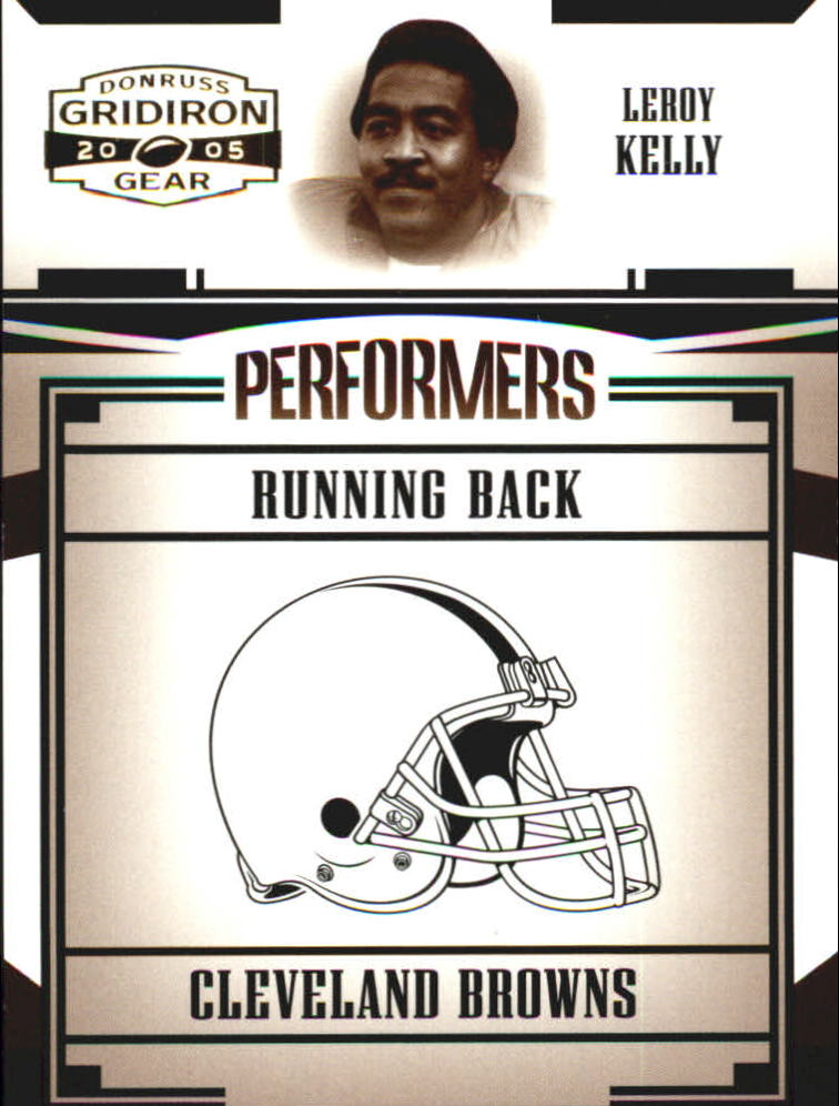 2005 Donruss Gridiron Gear Performers Gold #33 Leroy Kelly