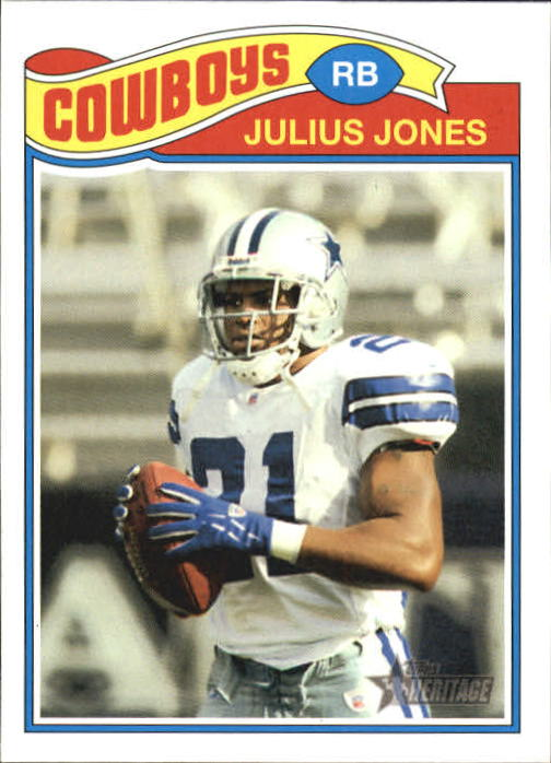2005 Topps Heritage #4 Julius Jones