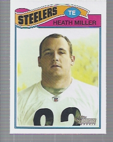 2005 Topps Heritage #61A Heath Miller RC