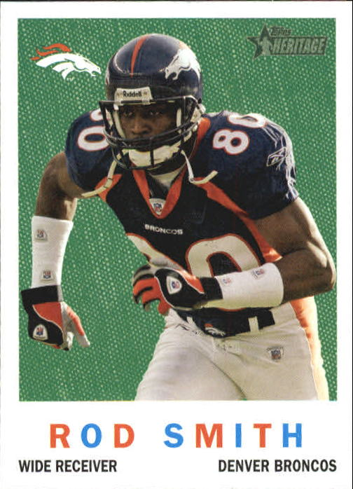 2005 Topps Heritage #82 Rod Smith