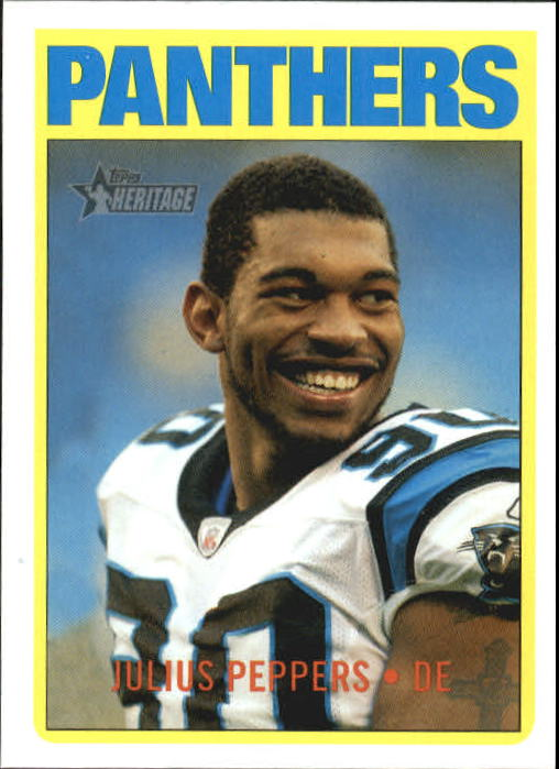2005 Topps Heritage #96 Julius Peppers