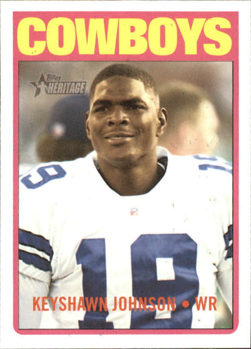 2005 Topps Heritage #152 Keyshawn Johnson