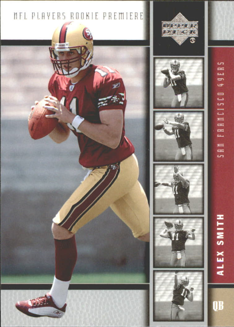 2005 Upper Deck Rookie Premiere #2 Alex Smith QB