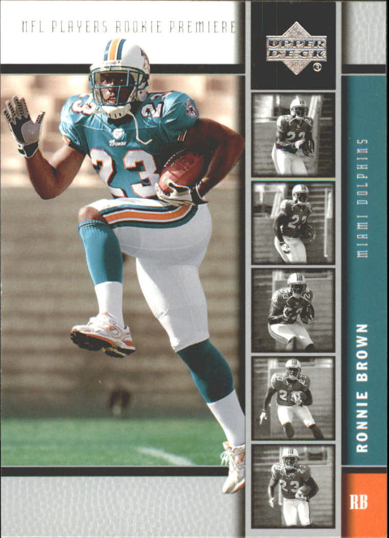 2005 Upper Deck Rookie Premiere #5 Ronnie Brown