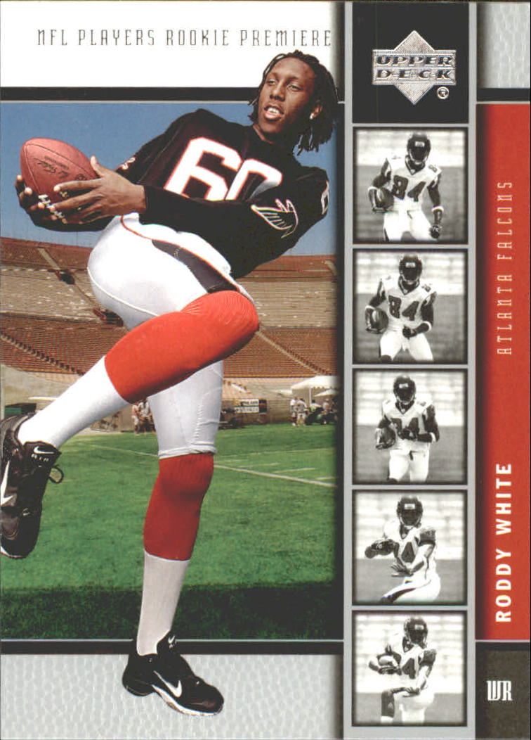 2005 Upper Deck Rookie Premiere #7 Roddy White
