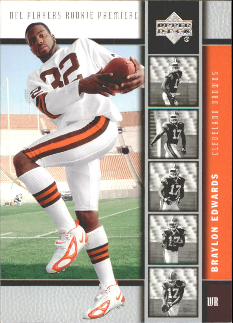 2005 Upper Deck Rookie Premiere #8 Braylon Edwards