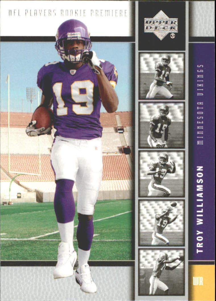 2005 Upper Deck Rookie Premiere #14 Troy Williamson front image
