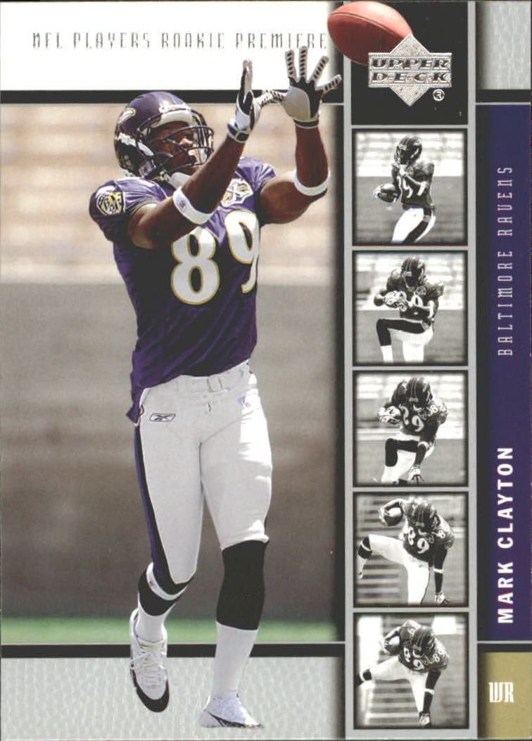 2005 Upper Deck Rookie Premiere #15 Mark Clayton