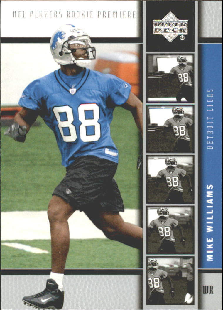 2005 Upper Deck Rookie Premiere #18 Mike Williams