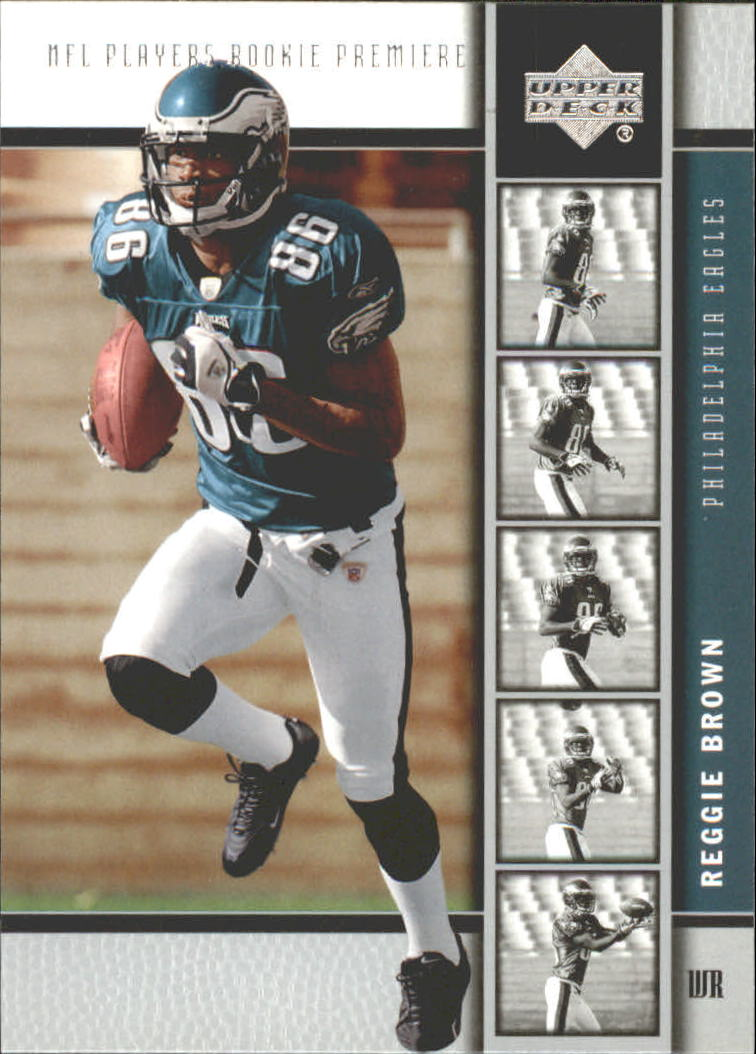 2005 Upper Deck Rookie Premiere #20 Reggie Brown