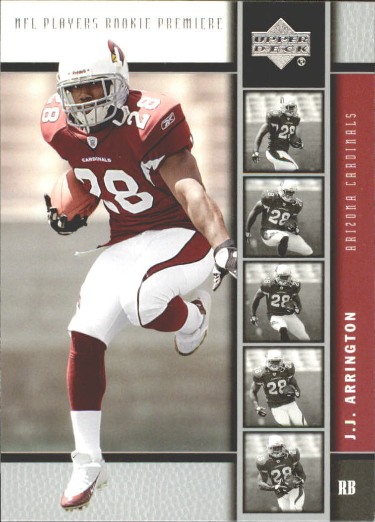 2005 Upper Deck Rookie Premiere #21 J.J. Arrington