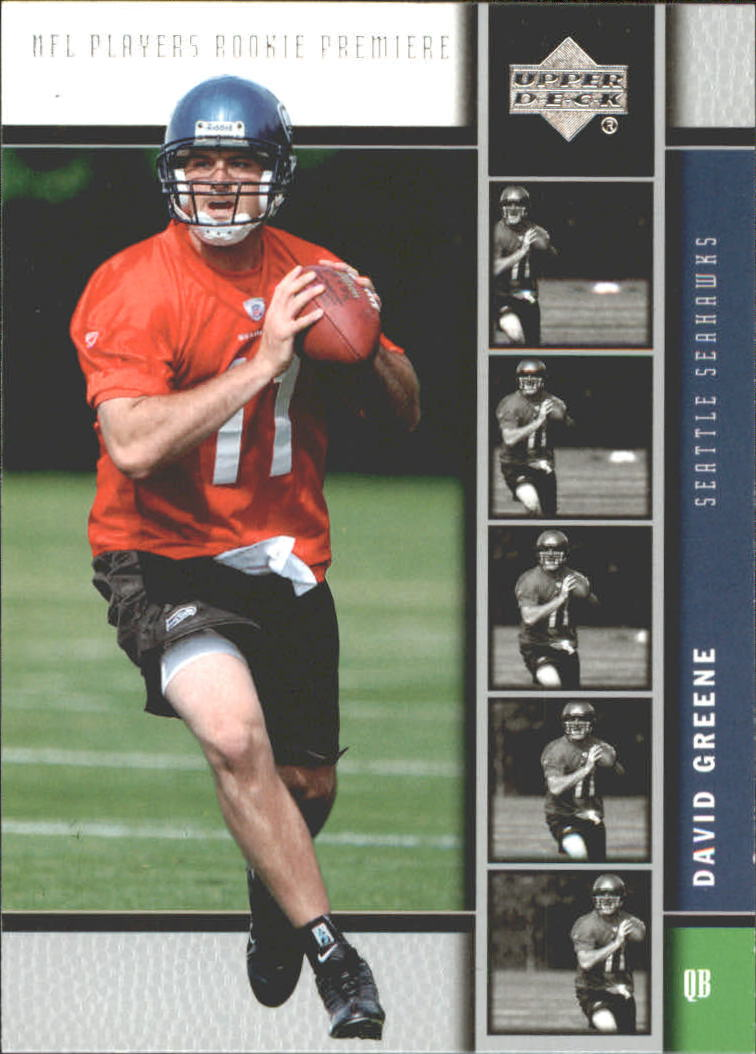 2005 Upper Deck Rookie Premiere #23 David Greene