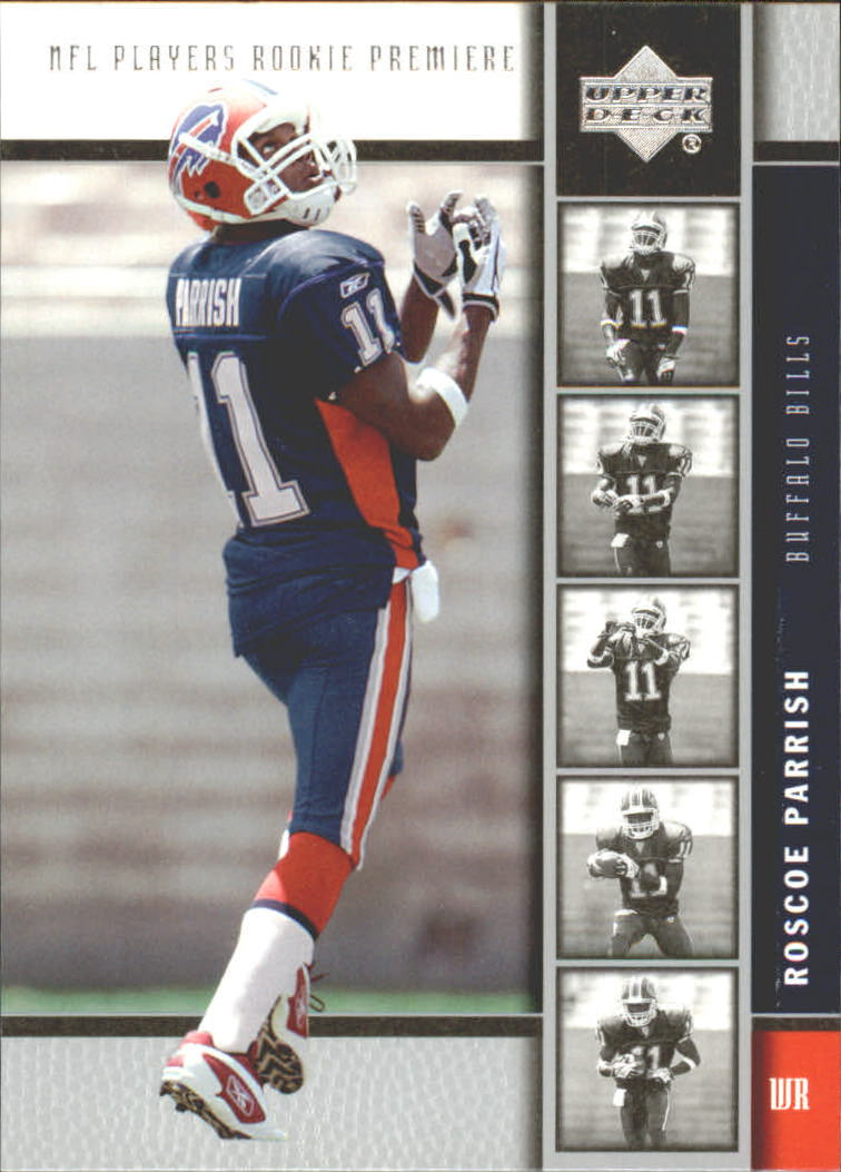 2005 Upper Deck Rookie Premiere #24 Roscoe Parrish