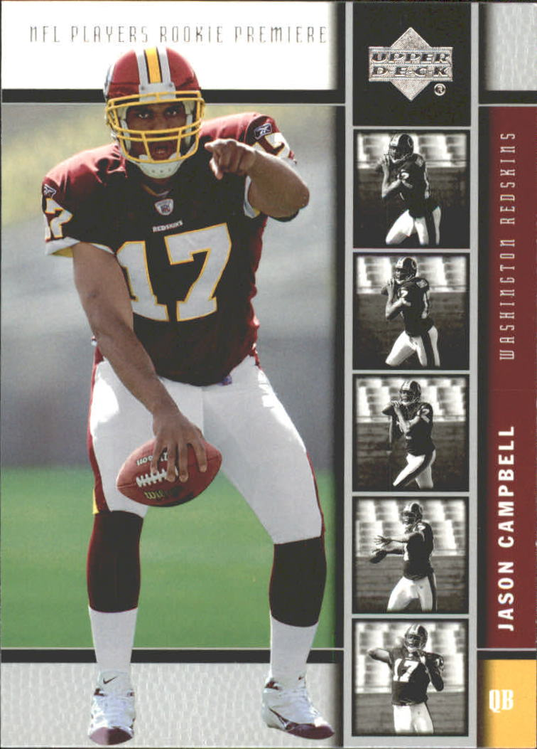 2005 Upper Deck Rookie Premiere #26 Jason Campbell