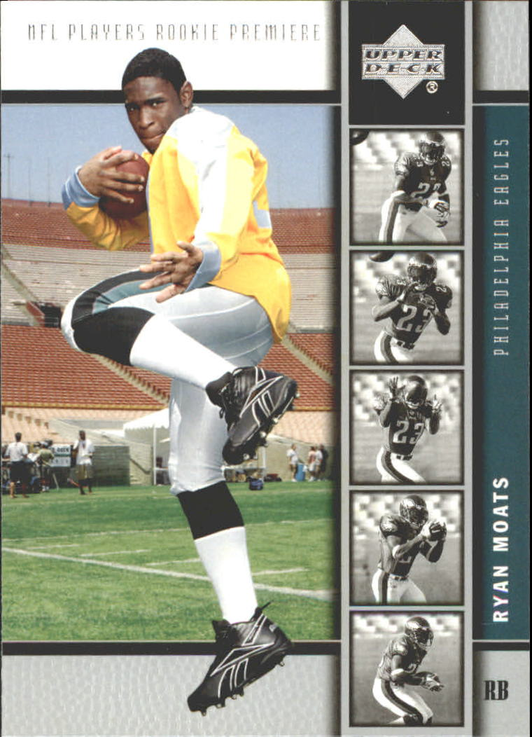 2005 Upper Deck Rookie Premiere #29 Ryan Moats