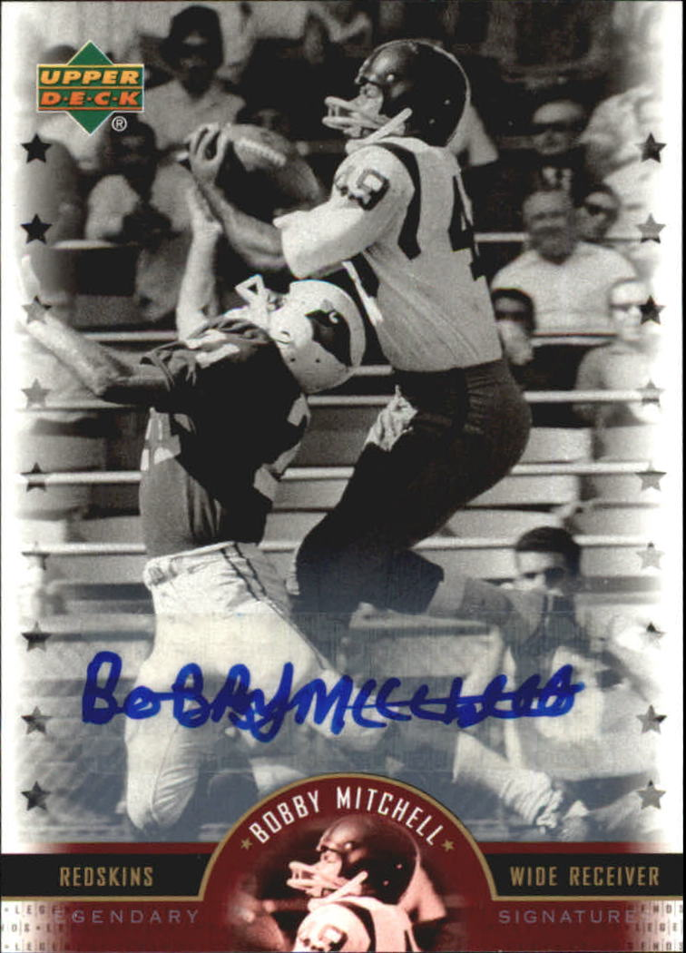 2005 Upper Deck Legends Legendary Signatures #BM Bobby Mitchell